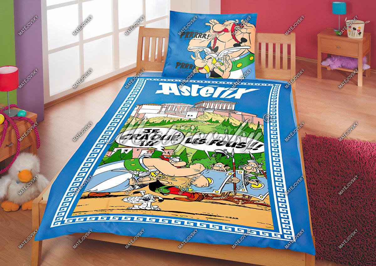 Dětské povlečení ASTERIX KARO bavlna hladká, 140x200cm