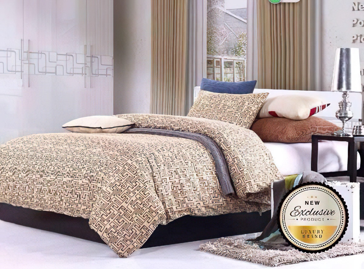 Povlečení CAIRO bavlna hladká, 140x200cm + 70x90cm