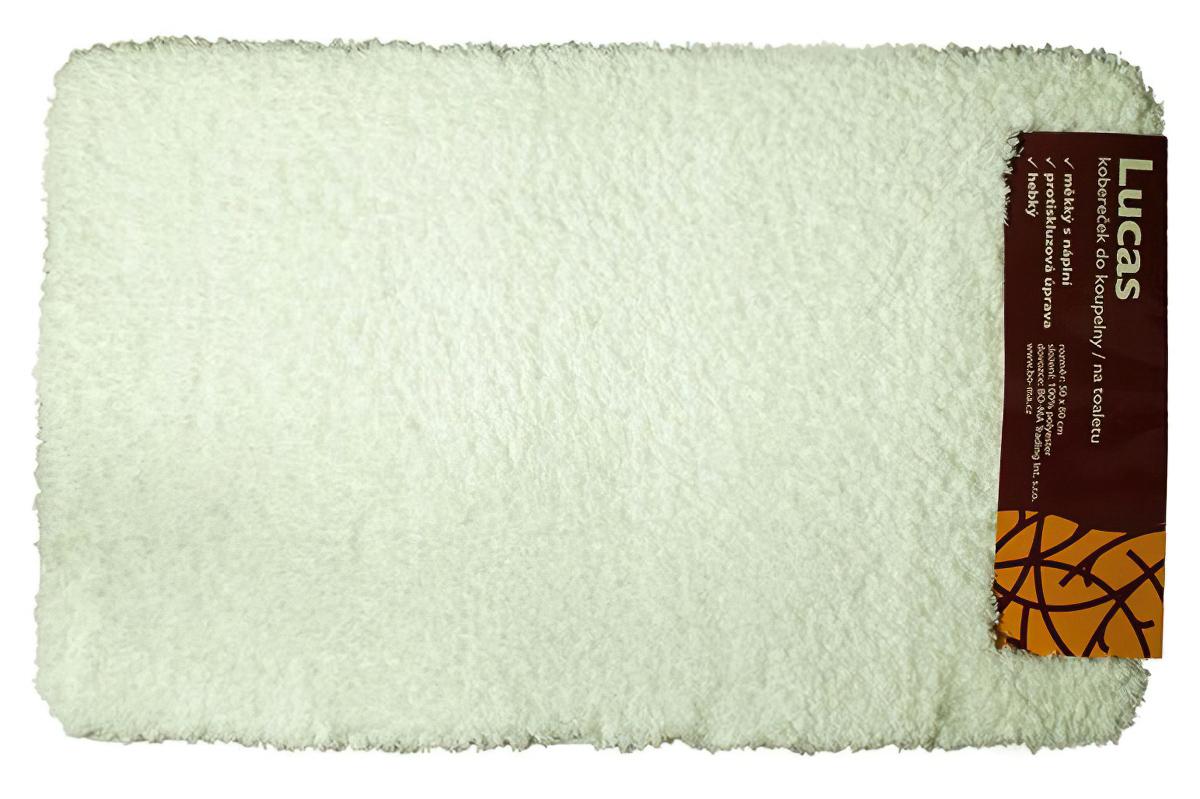 Koupelnová předložka LUKAS bílá (více rozměrů)