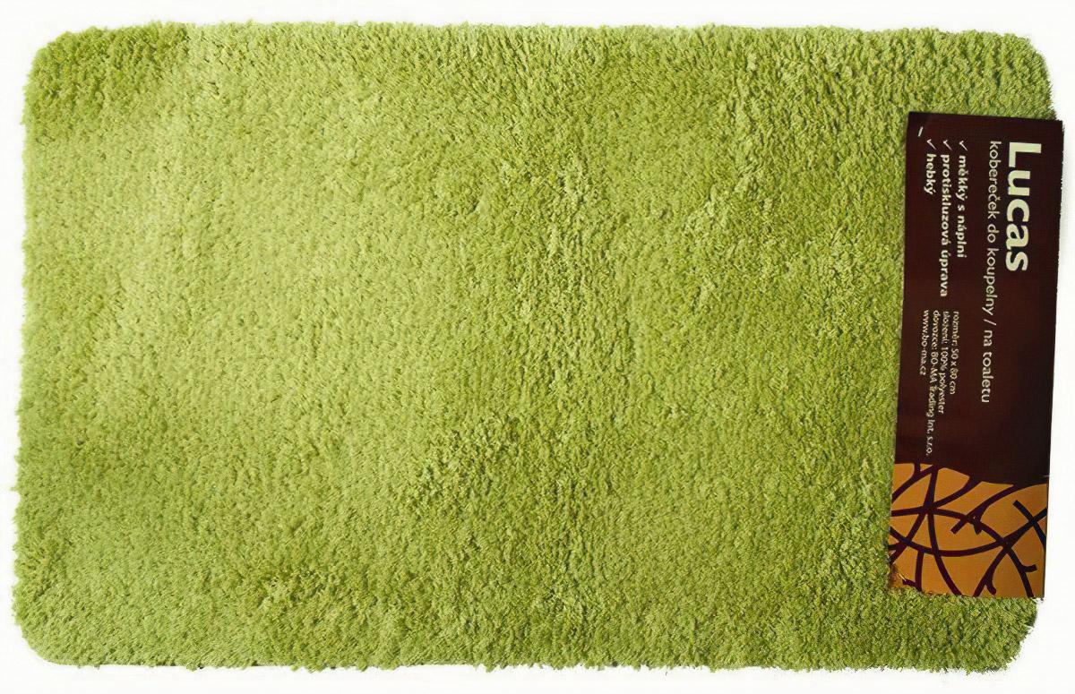 Koupelnová předložka LUKAS zelená (více rozměrů)