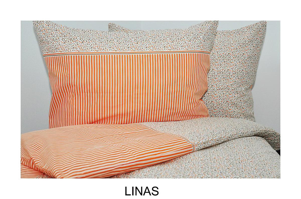 Povlečení LINAS krep, 140x200cm + 70x90cm