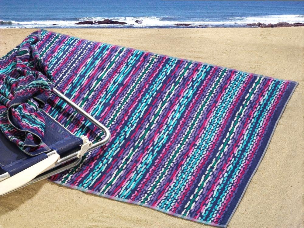 Plážová osuška PAROS froté, 95x185cm