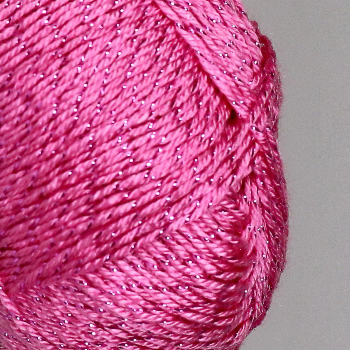 Pletací / háčkovací příze ALIZE FOREVER SIMLI 39 růžová, efektní, 50g/280m