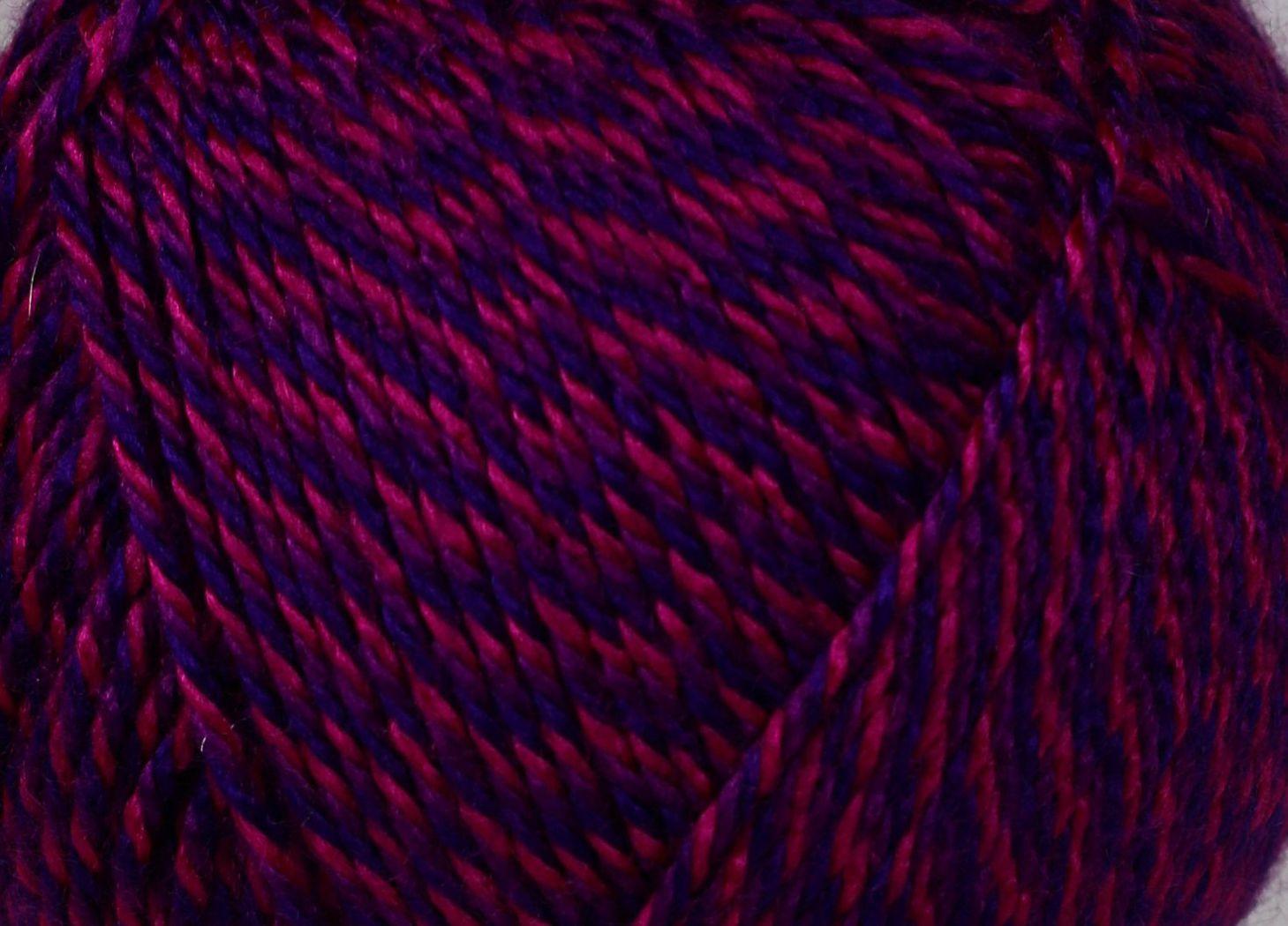 Pletací příze NAKO BONBON MULTI 98561 fialovo-růžová, melírovaná, 100g/240m