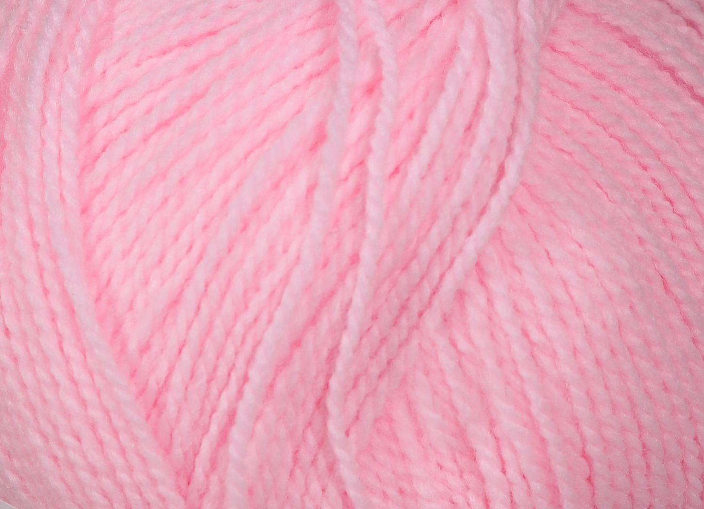 Pletací příze Vlnap BATOLE 52070 světle růžová, klasická, 100g/416m