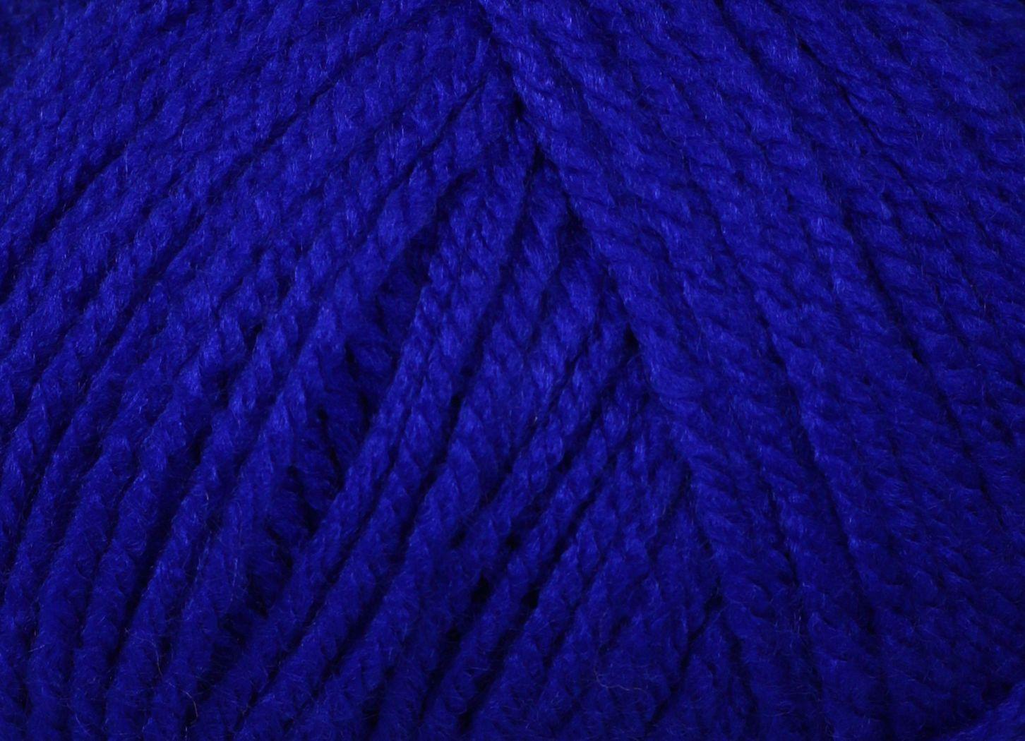 Pletací příze Vlnika XANTYPA 466 modrá, klasická, 100g/200m