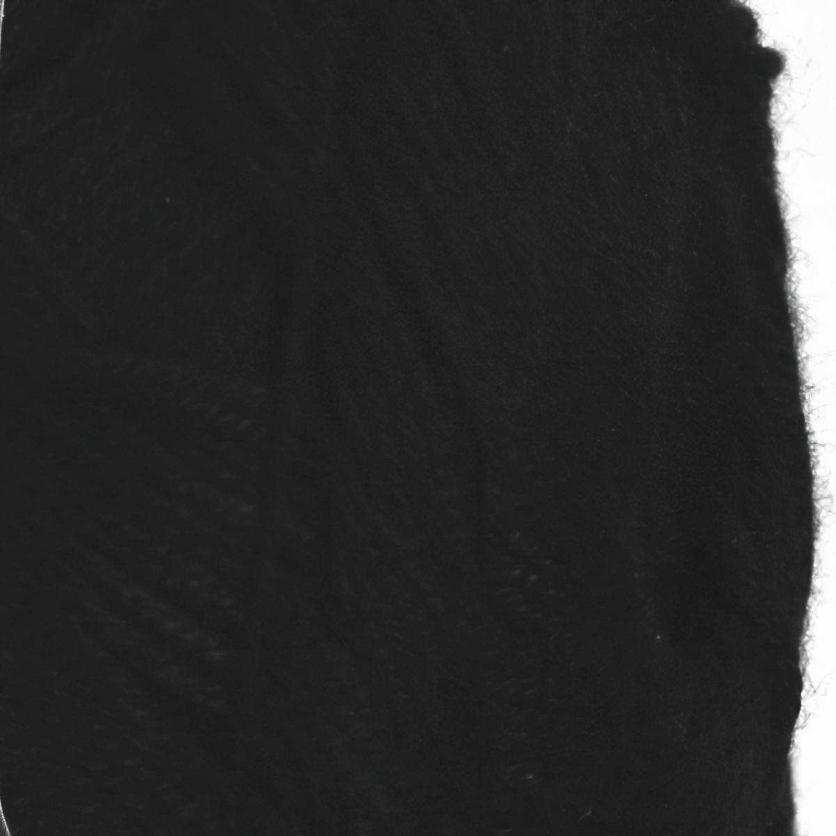 Pletací / háčkovací příze YarnArt BAMBOO 551 černá, jednobarevná, 50g/200m