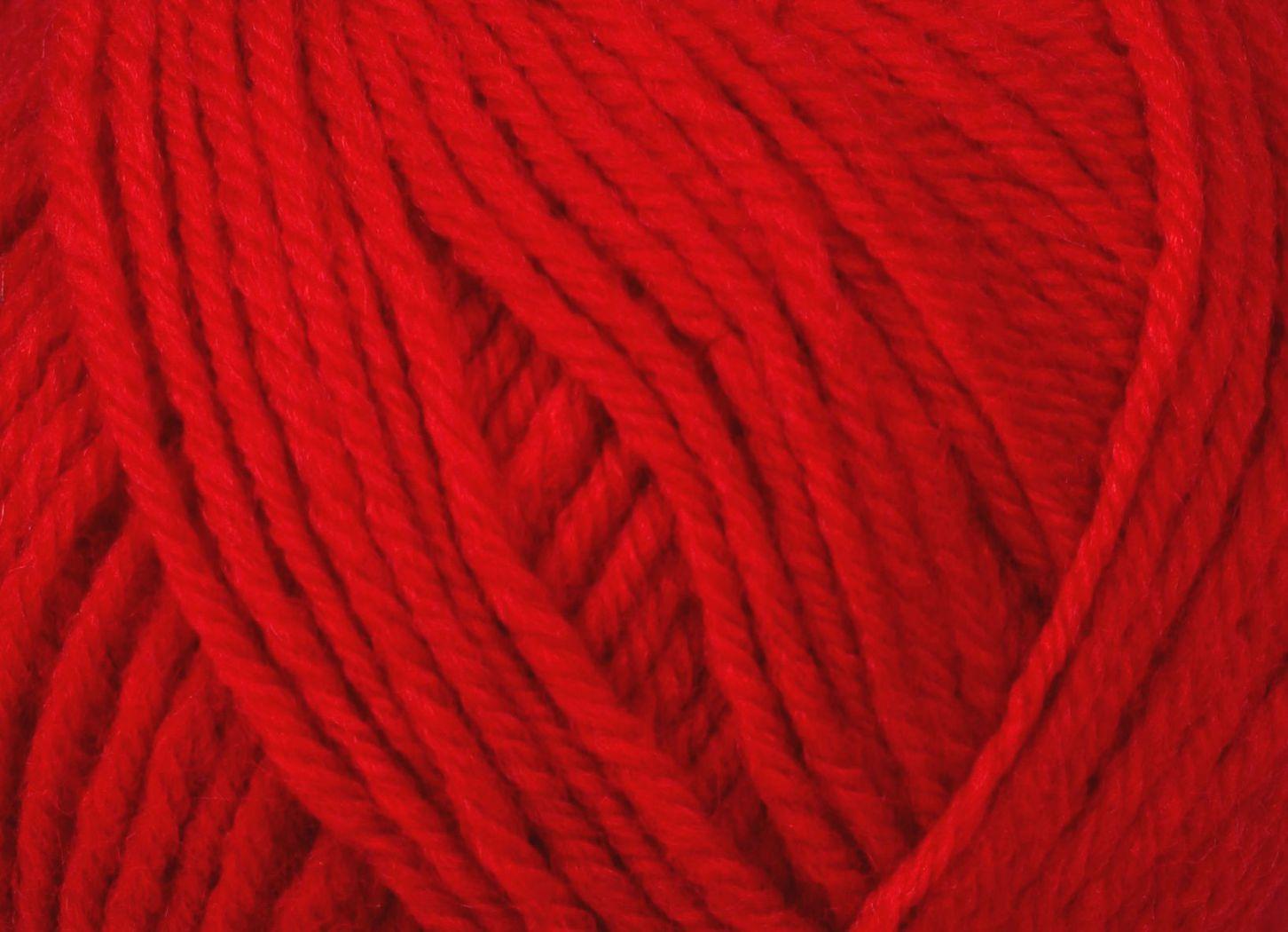 Pletací příze YarnArt CHARISMA 156 červená, klasická, 100g/200m