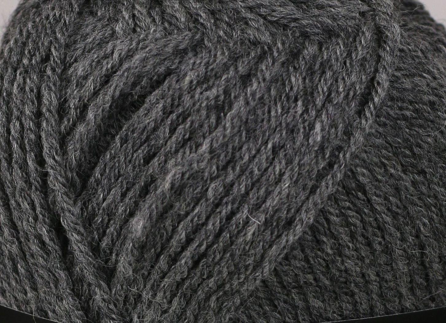 Pletací příze YarnArt CHARISMA 179 tmavě šedá, klasická, 100g/200m