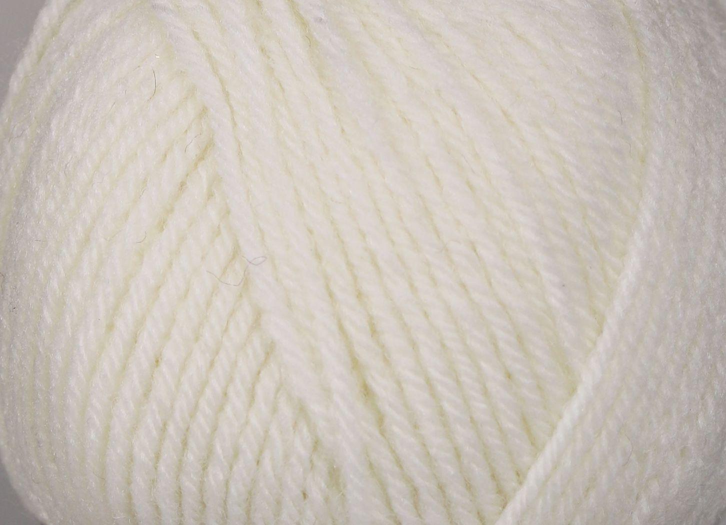 Pletací příze YarnArt CHARISMA 501 bílá, klasická, 100g/200m
