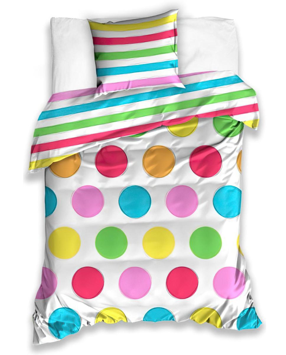 Dětské povlečení BALONKY bavlna hladká, 140x200cm + 70x90cm