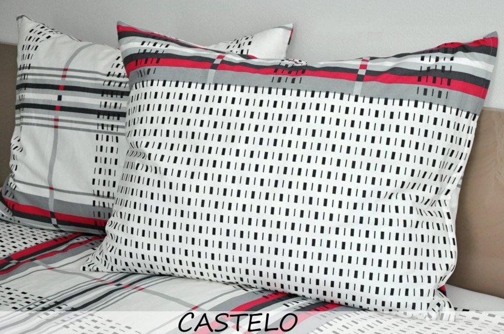 Povlečení CASTELO krep, 140x200cm + 70x90cm