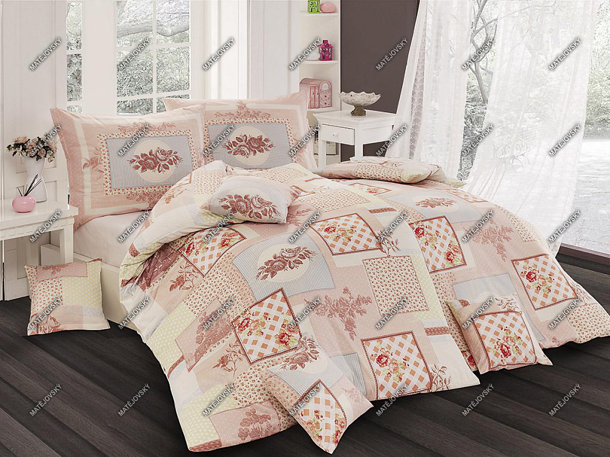 Povlečení MITONE bavlna hladká, 140x200cm + 70x90cm