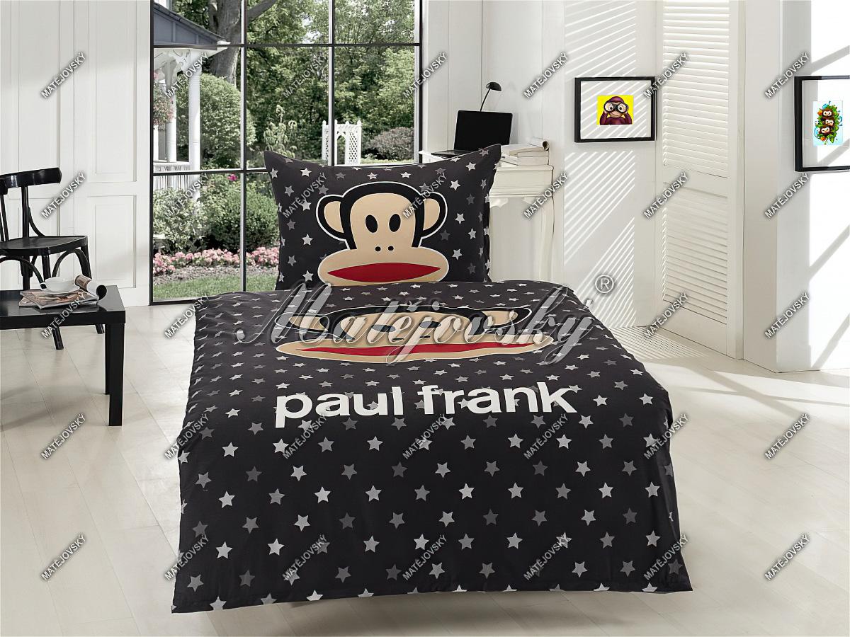 Dětské povlečení PAUL FRANK STAR bavlna hladká (více rozměrů)