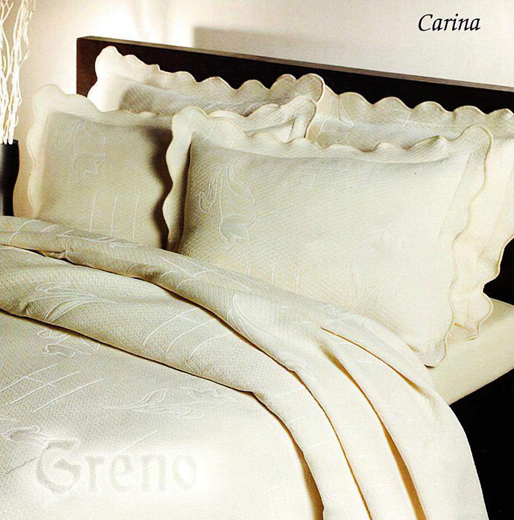 Přehoz na postel CARINA BÉŽOVÝ, 220x260cm, dvoulůžkový