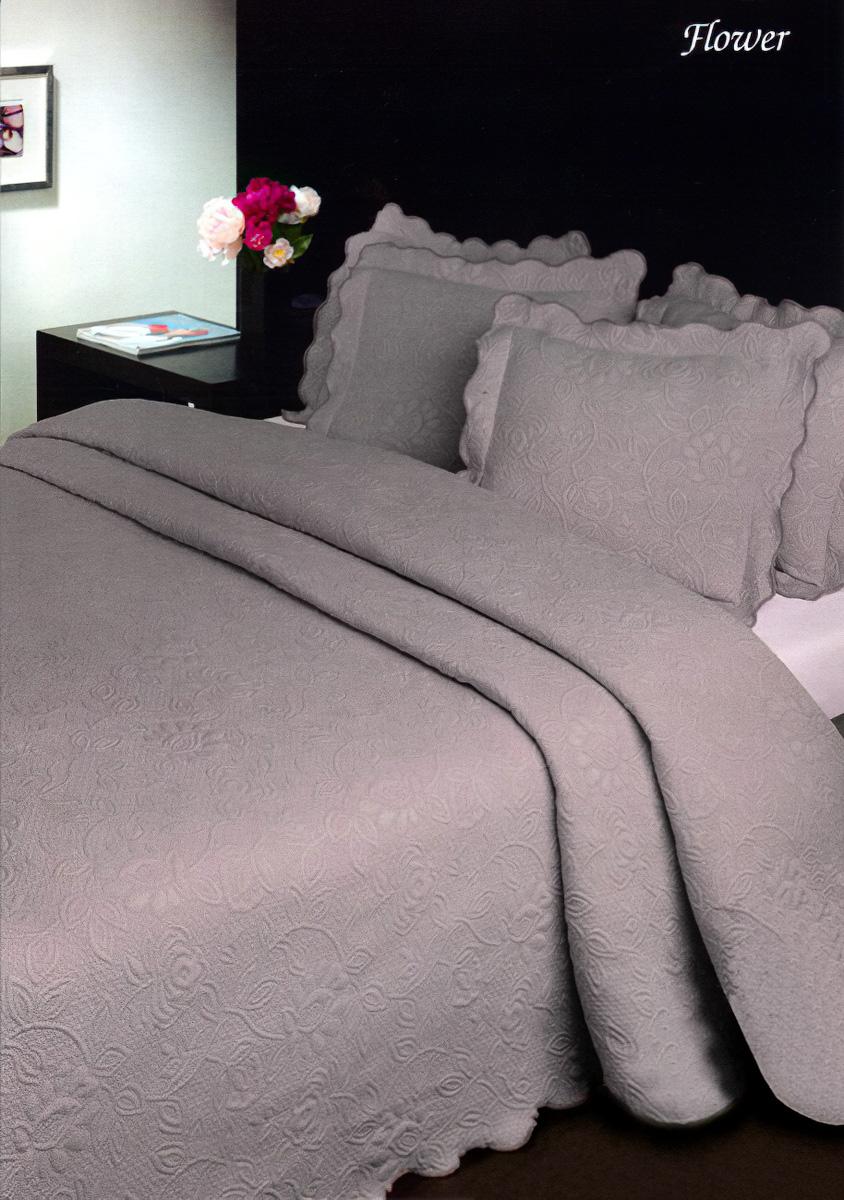 Přehoz na postel FLOWER BORDÓ (více rozměrů)