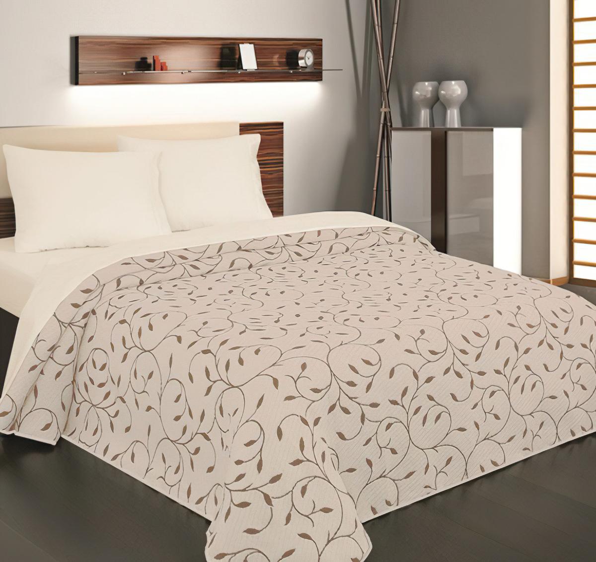 Přehoz na postel INDIANA hnědá (více rozměrů)