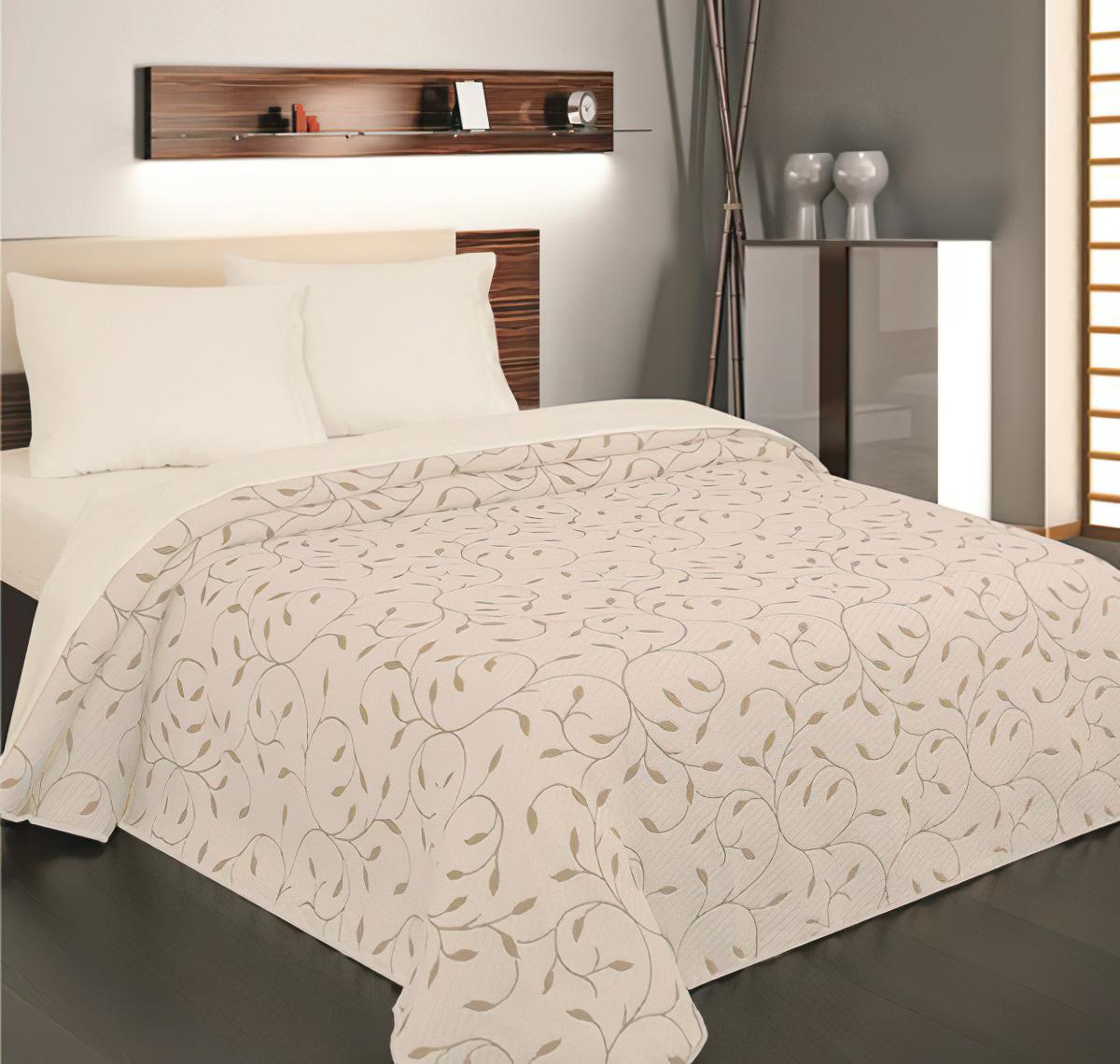 Přehoz na postel INDIANA šedobéžový (více rozměrů)