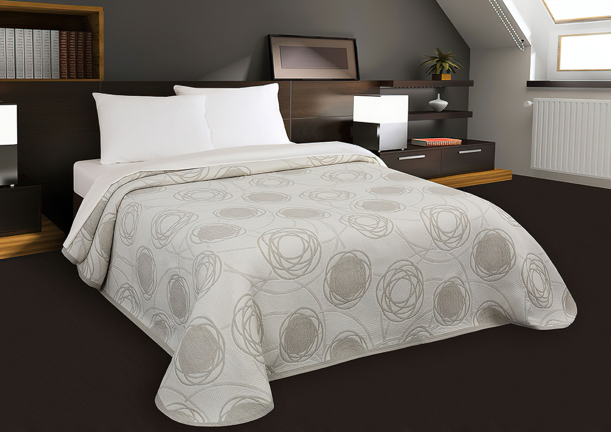 Přehoz na postel MARINA béžový (více rozměrů)