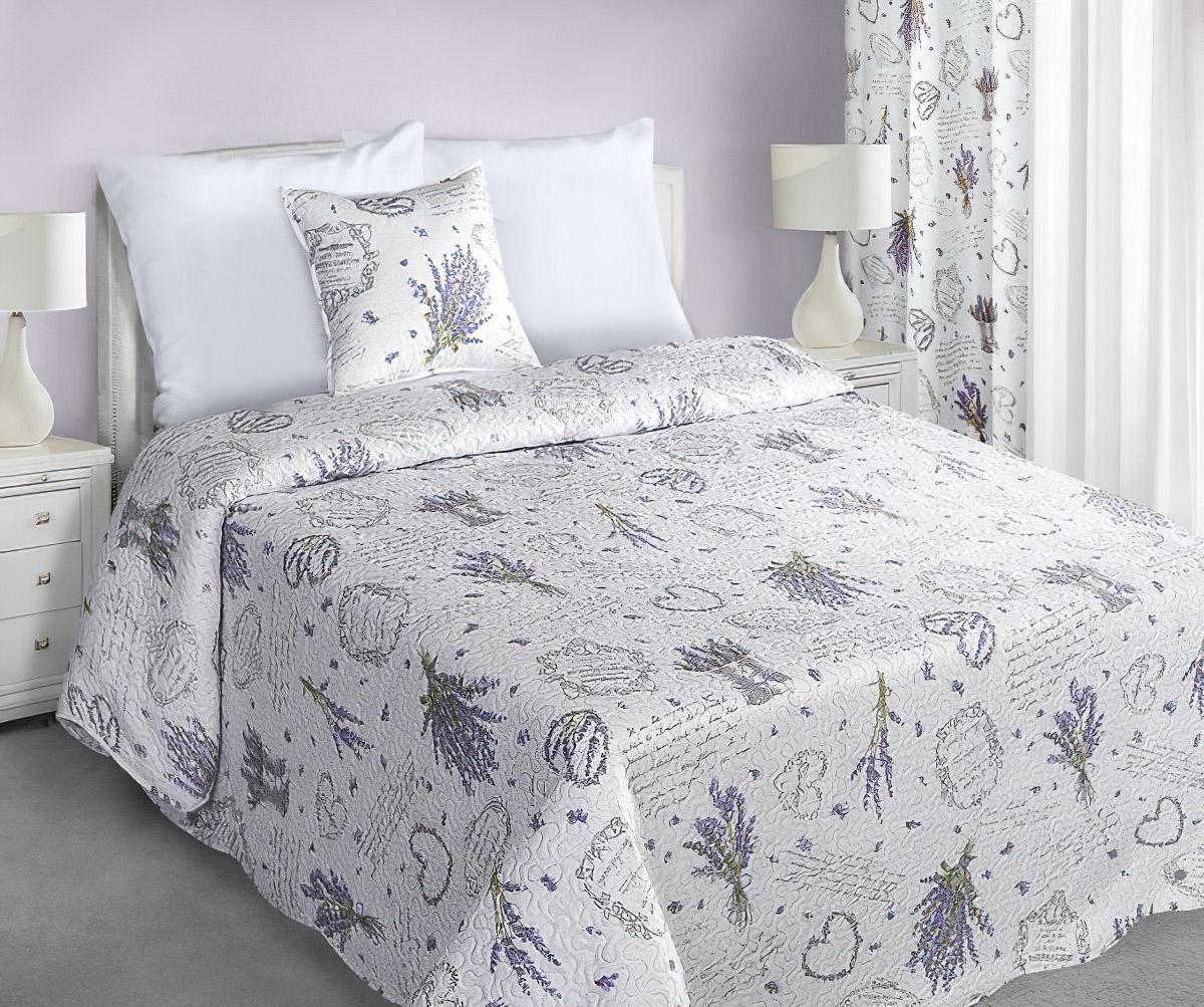 Přehoz na postel SENDI LEVANDULE , 220x240cm, dvojlůžkový