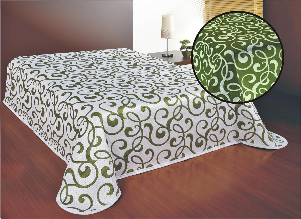 Přehoz na postel SERENA ZELENÝ (více rozměrů)