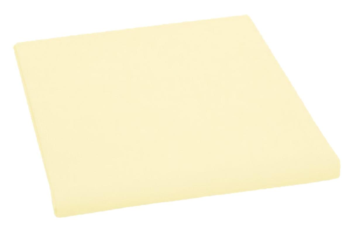 Bavlněné plátěné prostěradlo, plachta 240x240cm, světle žluté