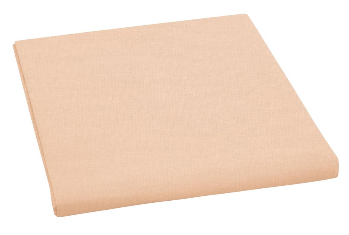 Bavlněné plátěné prostěradlo, plachta 150x230cm, lososové