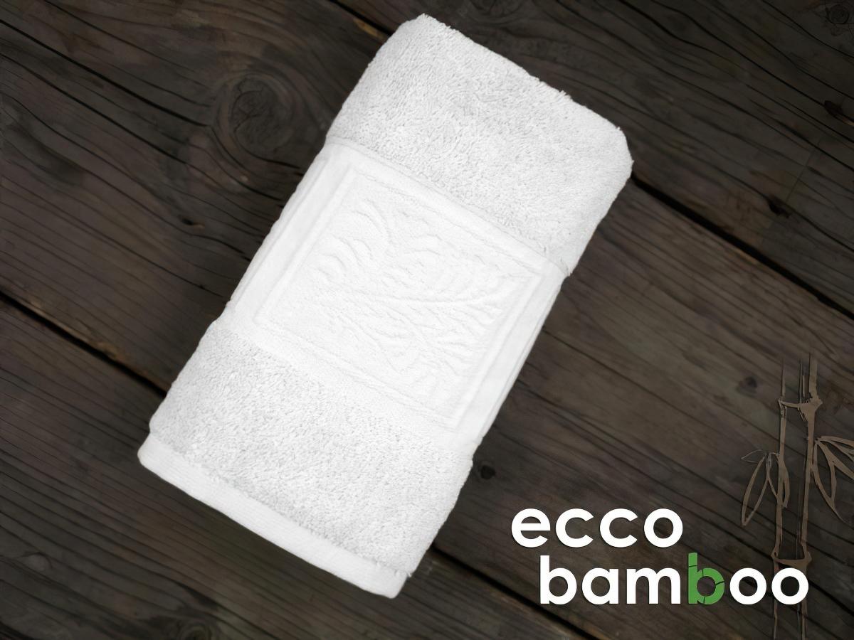 Froté ručník a osuška ECCO BAMBOO, bílý (více rozměrů)