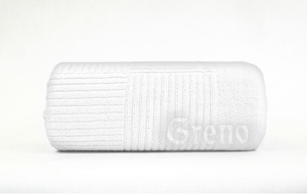 Froté ručník a osuška ENIGMA, bílá (více rozměrů)